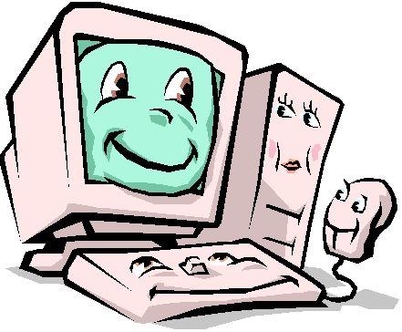Computer-Cartoon